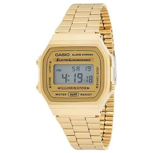 Casio Vintage Retro Gold Watch
