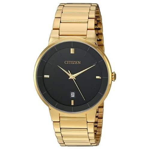 Citizen Men's BI5012-53E Gold-Tone Watch