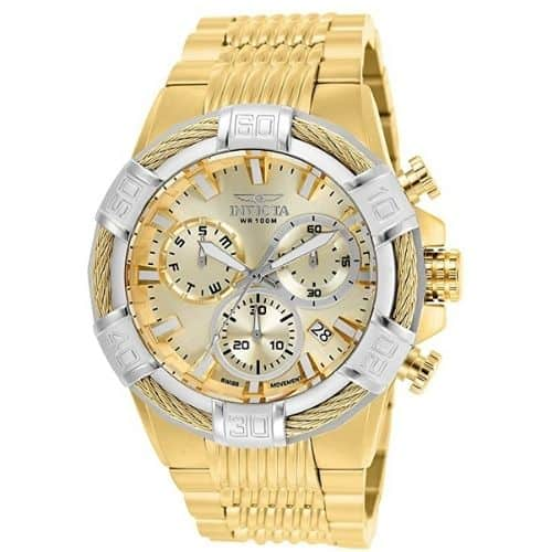 Invicta Men's Bolt Gold Tone Watch
