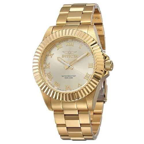 Invicta Men's Pro Diver Gold-Tone Watch