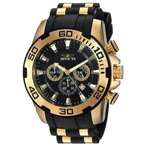 Invicta Men's Pro Diver Scuba Gold-Tone Watch