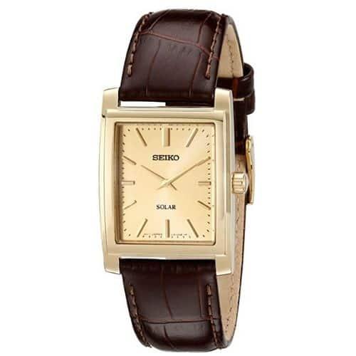 Seiko SUP896 Gold-Tone Watch