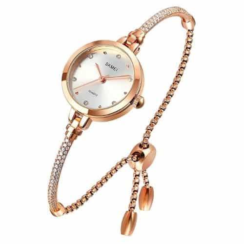 Tonnier Women's Diamonds Bracelet Watch