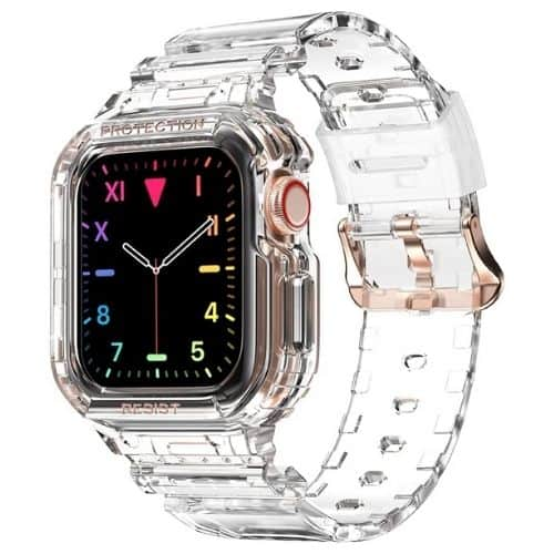 amBand Clear Jelly Transparent Bands