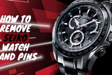 How to remove Seiko watch band pins   complete guide