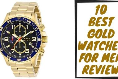 Best Gold Watches for Men Review   Grab the Best One for You