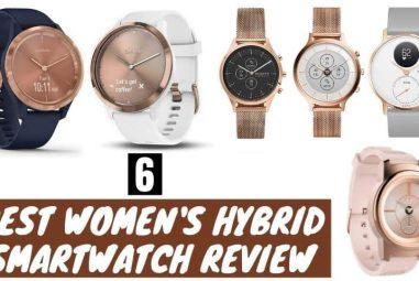 6 Best Women's Hybrid Smartwatch Review | Pick the Best One