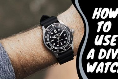 How to Use a Dive Watch Correctly | A Comprehensive Guide