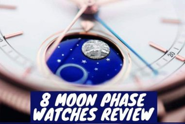 8 Best Moon phase Watches Review | A Great Fashion Choice